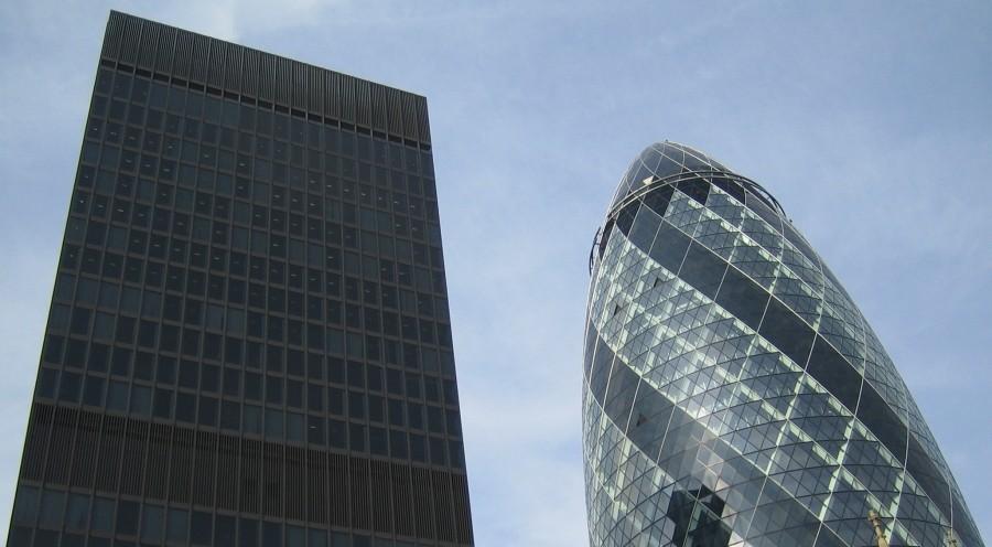 Londres Et L 39 Ogive De Foster Bloc Notes